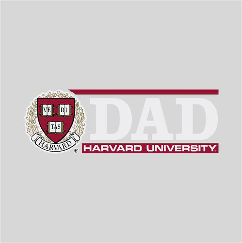 Harvard Dad  Decal