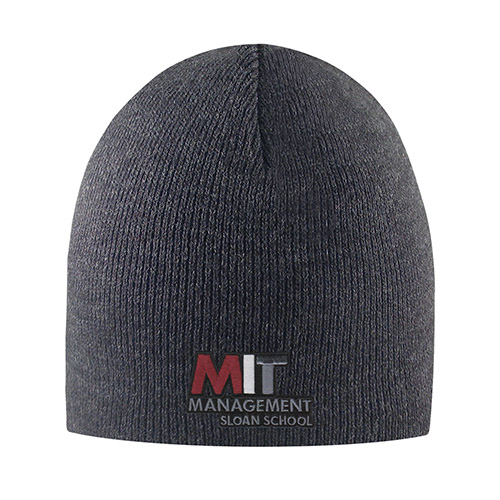 MIT Sloan School of Management Granite Knit hat