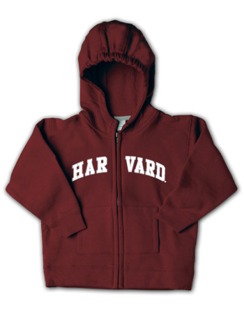 Harvard Toddler Full Zip Sweatshirt