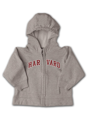 Harvard Infant Full Zip Hooded Sweatshirt