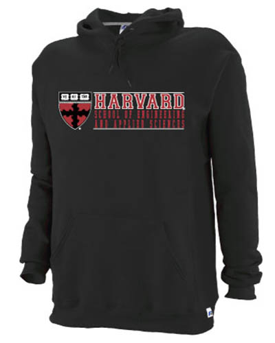 School of Engineering and Applied Sciences Black Hooded Sweatshirt
