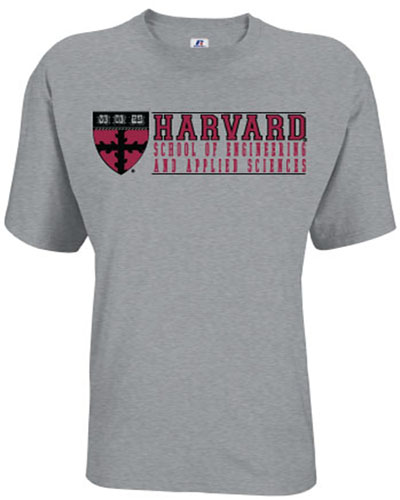 Harvard School of Engineering and Applied Sciences Grey T shirt