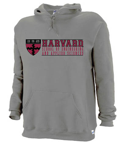 School of Engineering and Applied Sciences Grey Hooded Sweatshirt