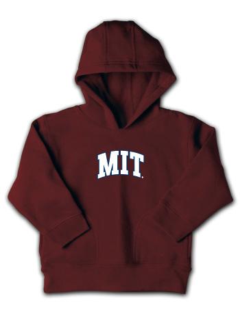 Maroon Toddler MIT Hooded Sweatshirt
