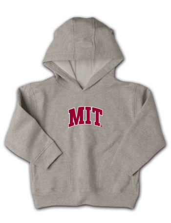 Oxford Grey Toddler MIT Hooded Sweatshirt