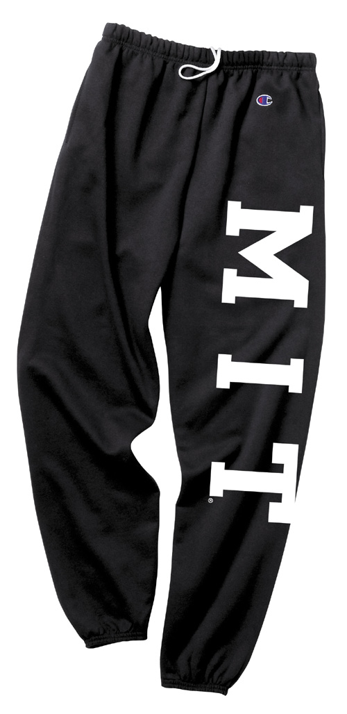 MIT Black Sweatpants