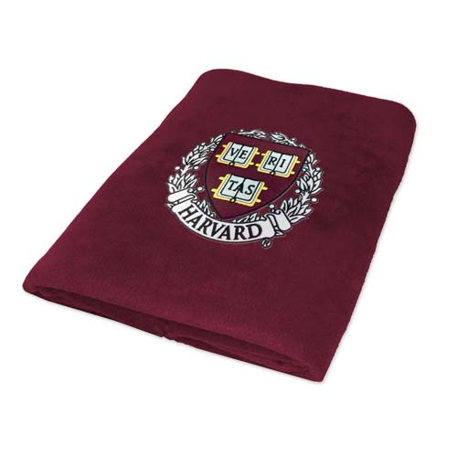 Harvard Veritas Polar Fleece Blanket