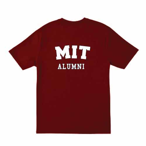 MIT Alumni Cardinal  T Shirt