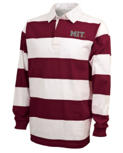 Classic MIT Rugby  Maroon/White Shirt