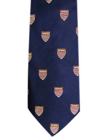 Harvard Kennedy School of Government Navy Tie