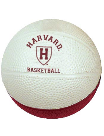 Harvard Maroon & White Athletic Shield Basketball