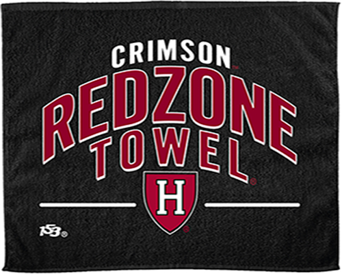 Football Red Zone Harvard Towel