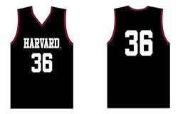 Youth Replica Harvard Basketball Jersey