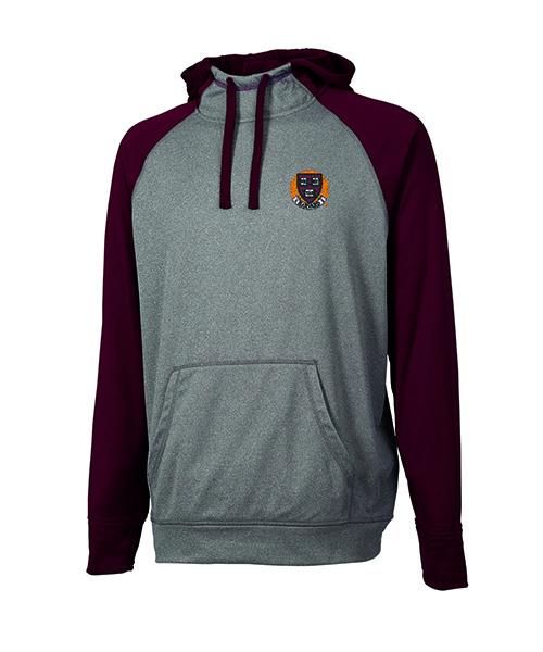 Harvard Veritas Field Maroon /GreySweatshirt