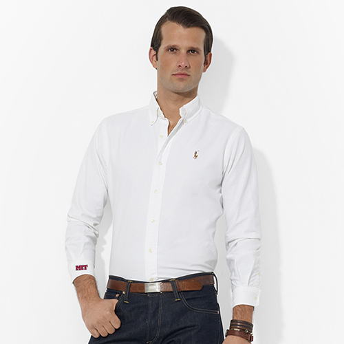 Ralph Lauren White Oxford MIT Shirt