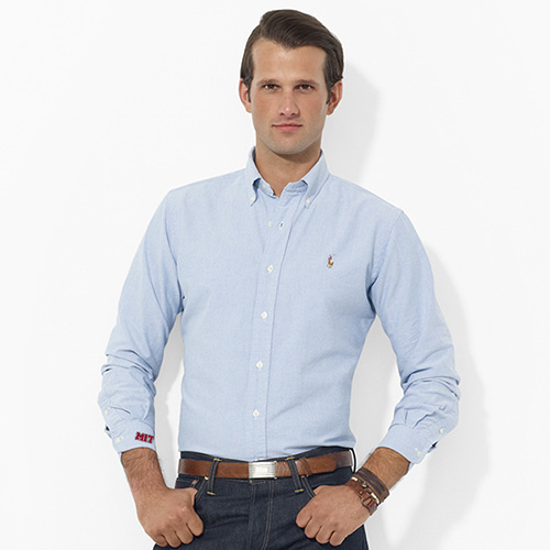 Ralph Lauren Blue Oxford MIT Shirt