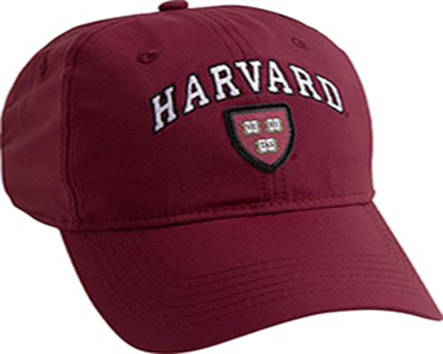 Harvard Maroon Performance Tech Hat