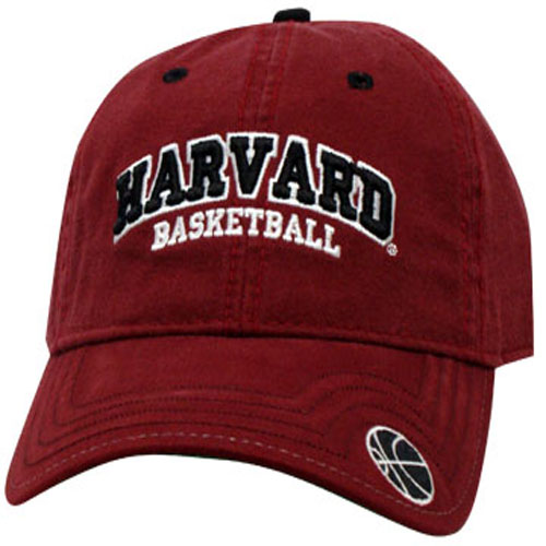 Harvard Maroon Unstructured Basketball Hat