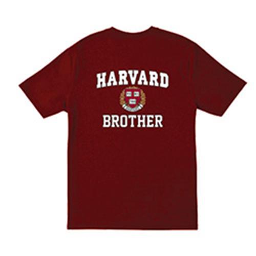 Harvard Brother  Maroon T Shirt