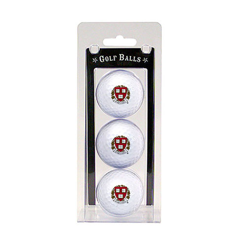Harvard Veritas Set of 3 Golf Balls