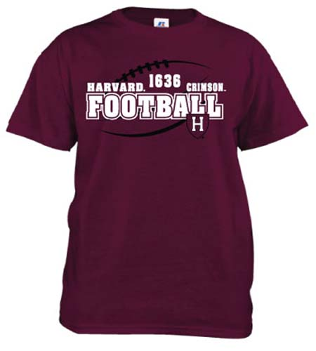Adult Maroon Football T Shirt