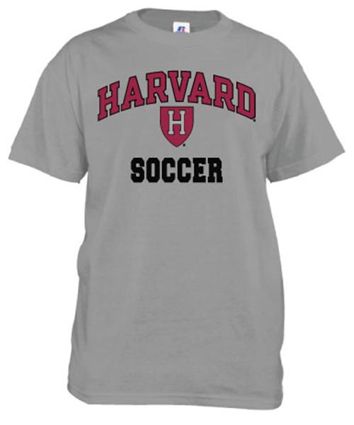 b7ec04f5 Harvard Soccer Grey T Shirt