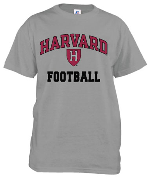 Harvard Football Grey T Shirt