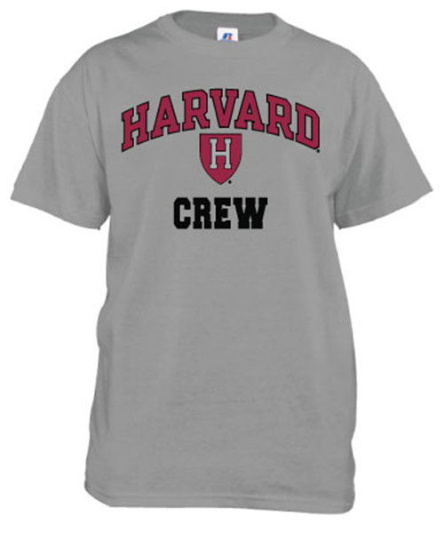 Harvard Crew Grey T Shirt