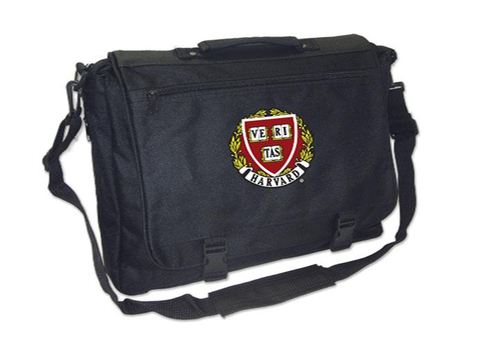 Harvard Seal Embroidered Messenger Bag