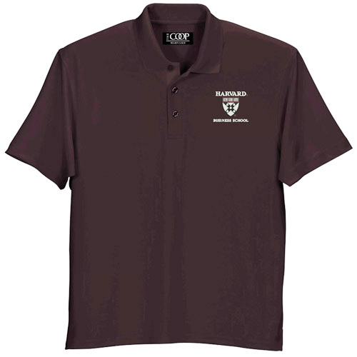 0a8cfb5f Home > HARVARD > Sale > Mens > Harvard Business School Wicking Micro Mesh  Maroon Polo