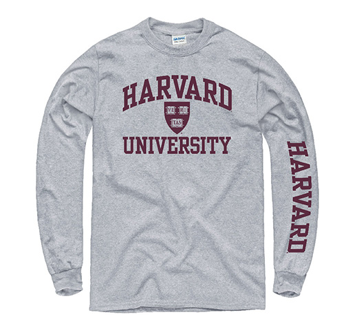 Harvard Value Long Sleeve Tee Shirt