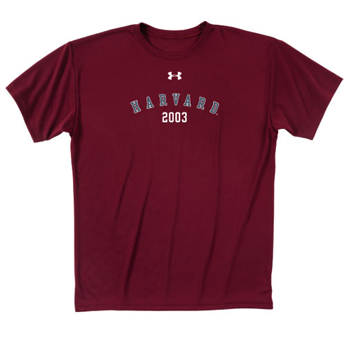 Under Armour Class of 2003 Crimson T Shirt