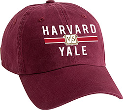 Harvard/Yale Maroon Hat