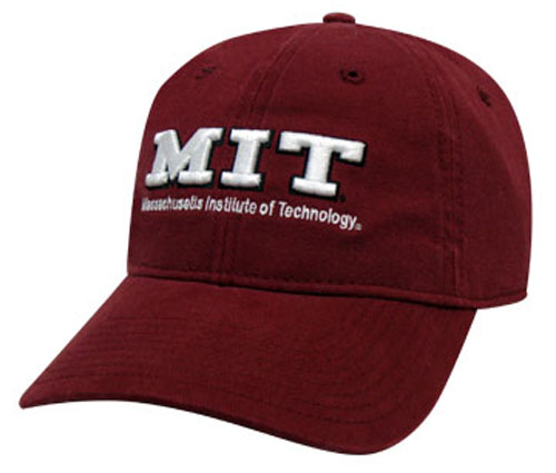 MIT Maroon Unstructured Hat