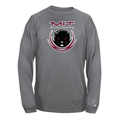 Performance MIT Beaver Carbon Long Sleeve T Shirt