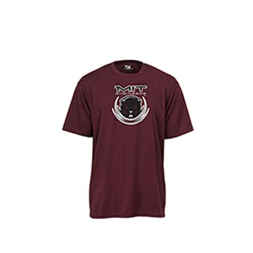 Performance MIT Beaver Pro Heather Maroon T Shirt
