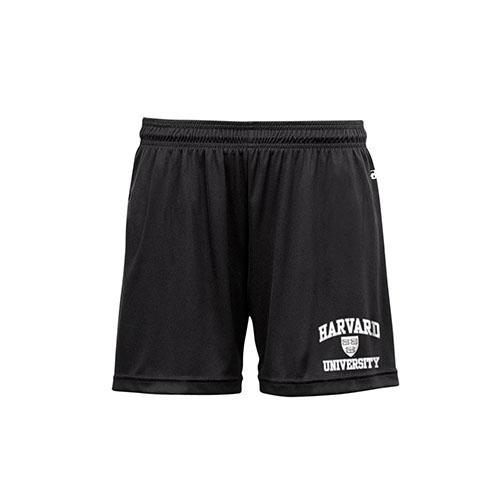 Women's Performance Harvard Black Shorts