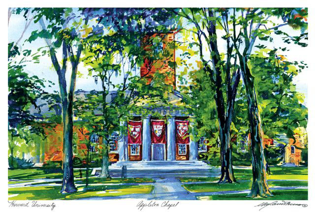 Appleton Chapel in Watercolor