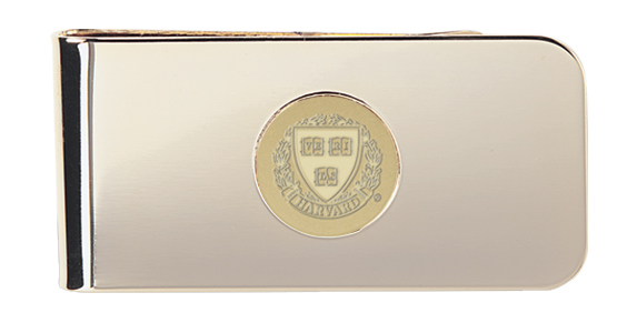 23K Gold-plated Medallion Money Clip (9G-G)