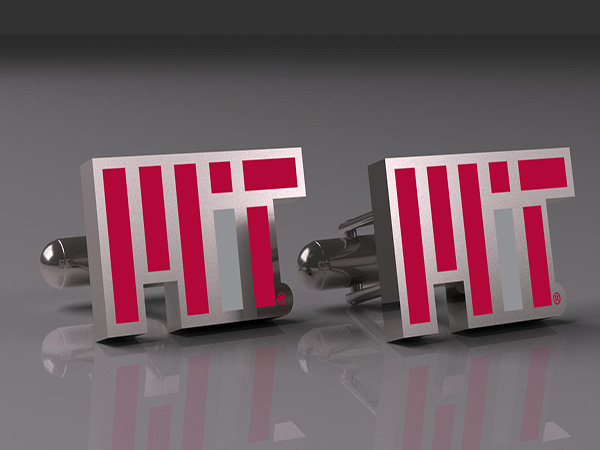 MIT Contemporary Silver Cufflinks (CUFW-WMIT2)