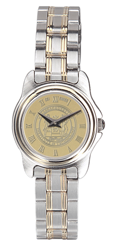 MIT Ladies Two-Tone Rolled Link Bracelet Wristwatch
