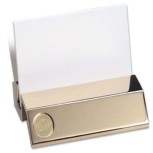 MIT Medallion Business Card Holder #11E-G-G