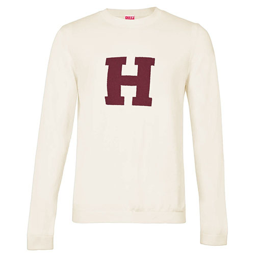Harvard  Crew Applique Sweater