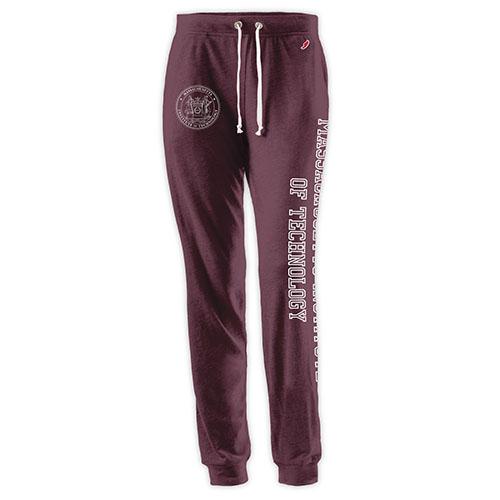 MIT Maroon Women's Fit Sweatpants