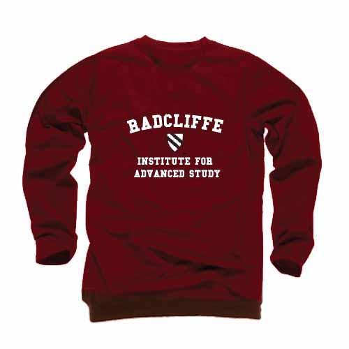 Harvard Maroon Radcliffe Crew Sweatshirt