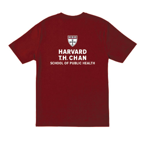 Harvard T.H. Chan School of Public Health Maroon T Shirt