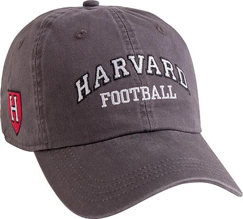 Harvard Granite Football Hat