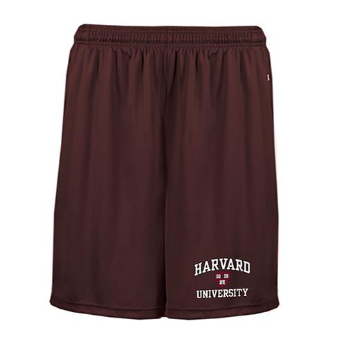 Harvard Maroon Performance Pocketed Shorts