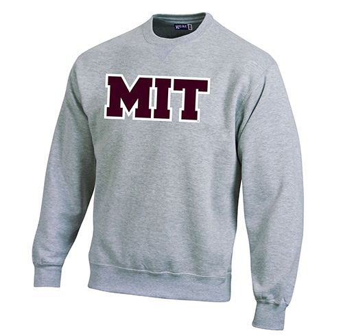 Versa Twill Mit Grey Crew Sweatshirt