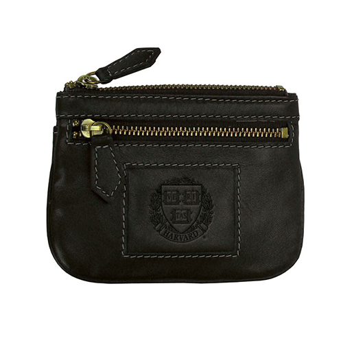 Harvard Black I.D and Coin Holder